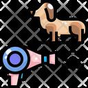 Dog Drying Icon