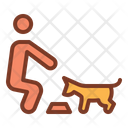 Dog Eating Eating Dog Eating Icon