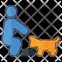 Dog Eating Eating Dog Eating Icon