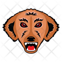 Dog Mascot Dog Face Puppy Face Icon