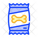 Feed Bag Dog Icon