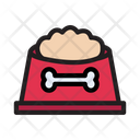 Bone Dog Food Icon