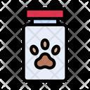 Dog Food Jar Icon