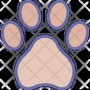 Dog footprint Icon