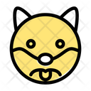 Dog Frowning Icon