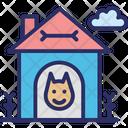 Dog House Dog Kennel Dog Shed Icon