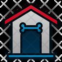 Dog House Pet Animal Icon