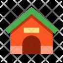 Dog House Animal Icon
