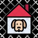 Dog Pet House Icon