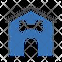 Dog House Bone Icon