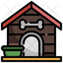 Dog House Pet House Kennel Icon