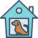 Shelter Dogshed Refuge Icon