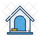 Dog House Kennel Icon