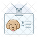 Dog Id Dog Id Badge Labrador Icon