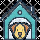 Dog In Kennel Dog Kennel Icon