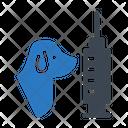 Dog Injection Icon