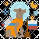 Dog Laika Icon