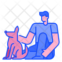 Dog Lover Pet Lover Pet Icon