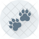 Pet Footprint Animal Icon