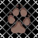 Dog Paw Animal Icon