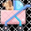 Dog Pushchair Icon