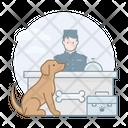 Dog Registration Dog Registration Icon