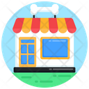 Pet Shop Dog Shop Dog Store Icon