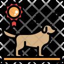 Dog Show Dog Contest Breeding Kennels Breeder Dog Golden Retriever Pet Cat Icon