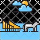 Dog Sled Icon