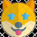 Dog Star Struck Icon