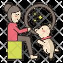 Dog Trainer Female Icon