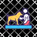 Dog Training Lesson Icon