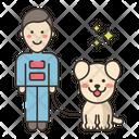 Dog Training Suit Icon