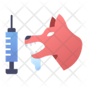 Rabies Health Dog Icon