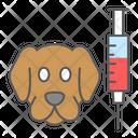 Dog Vaccine Icon