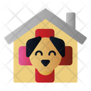 Clinic House Cat Icon