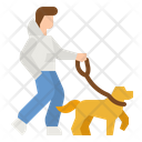 Dog Walk Icon