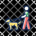 Dog Walker Icon
