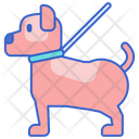 Idog Walking Dog Walking Dog Icon