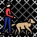 Dog Walking Dog Walk Dog Services Man Walking Dog Training Pet Pet Cat Icon