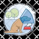 Dog With Bone Dog With Icon
