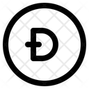 Crypto Banking Digital Icon
