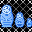 Nesting Doll Russia Icon