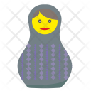 Woman Toy Matreshka Icon