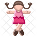 Doll Baby Girl Icon