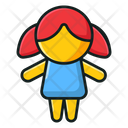 Doll Toy Plaything Icon