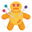 Horror Scary Doll Icon