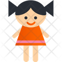 Doll Kid Toy Icon