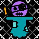 Doll Curse Devil Icon