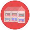 Doll House Toy Icon